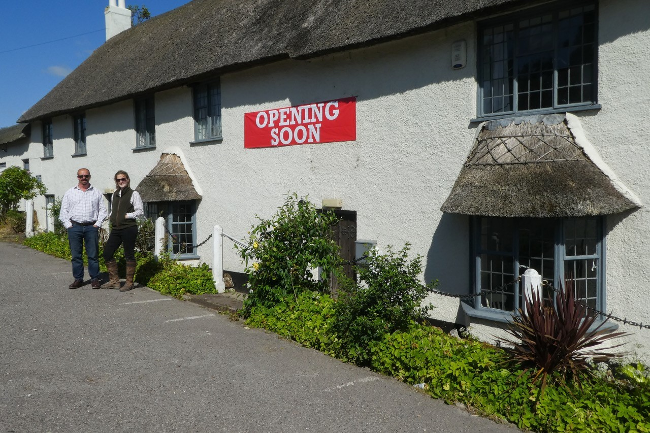 The Yarcombe Inn will reopen this summer