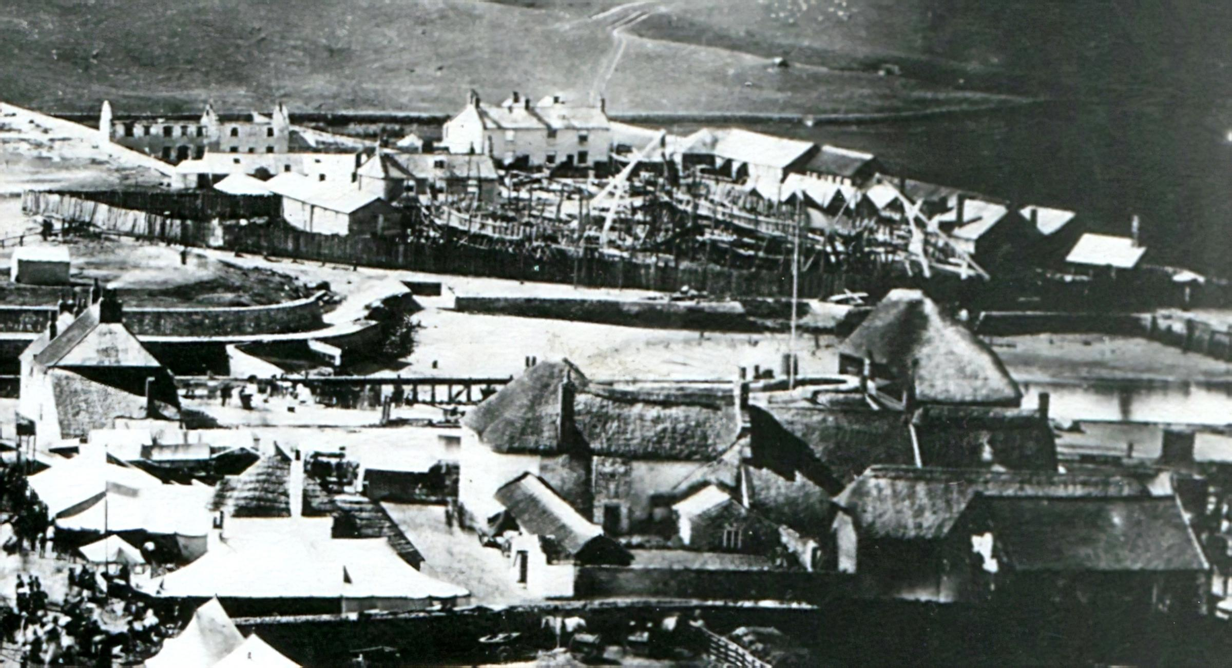 Take a look back at West Bay Harbour's shipbuilding past