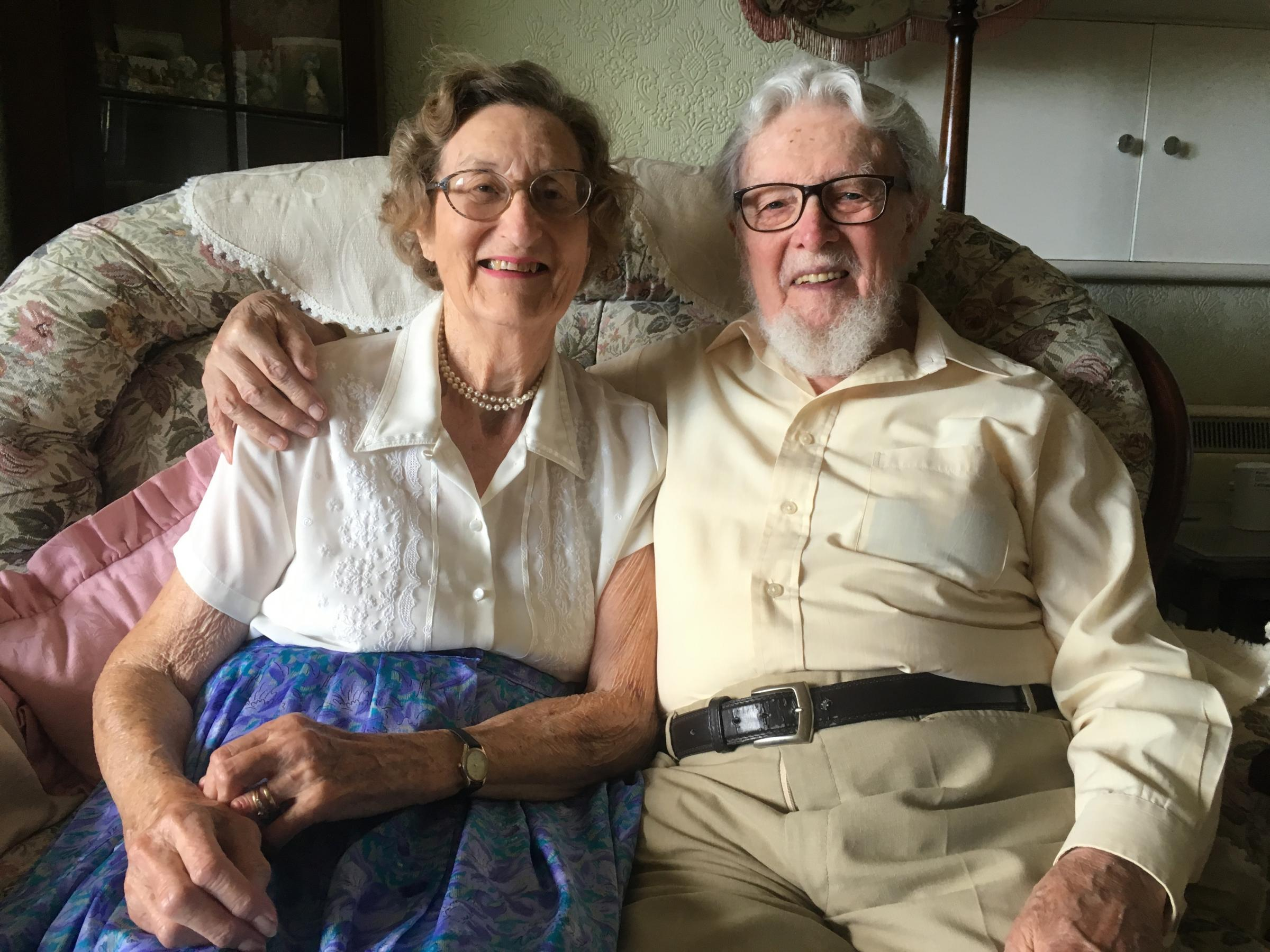 Bridport couple mark 65 years married, but 71 years of commitment