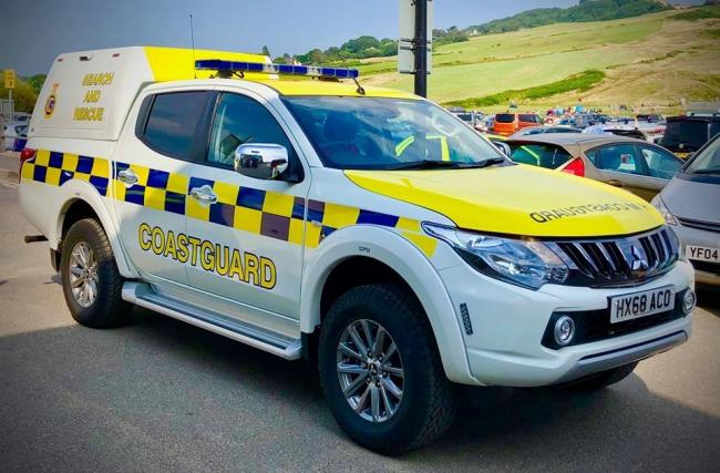 New rescue vehicle for West Bay Coastguard  Picture: West Bay Coastguard Rescue Team