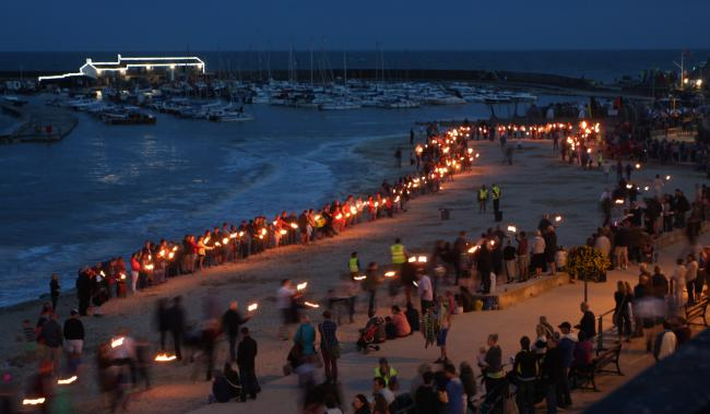 Lyme Regis carnival torchlit procession has been cancelled