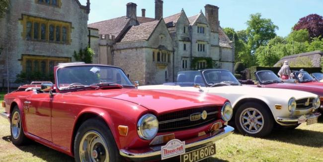 MG Car Rally takes place at Athelhampton on Sunday