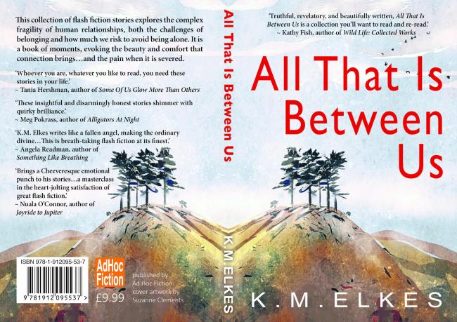 All That Is Between Us - By KM Elkes