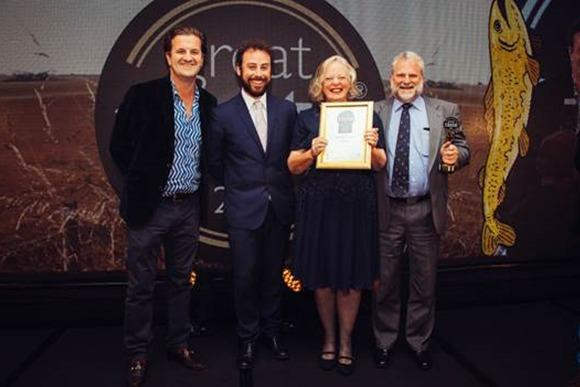 Capreolus Fine Foods recieving the award