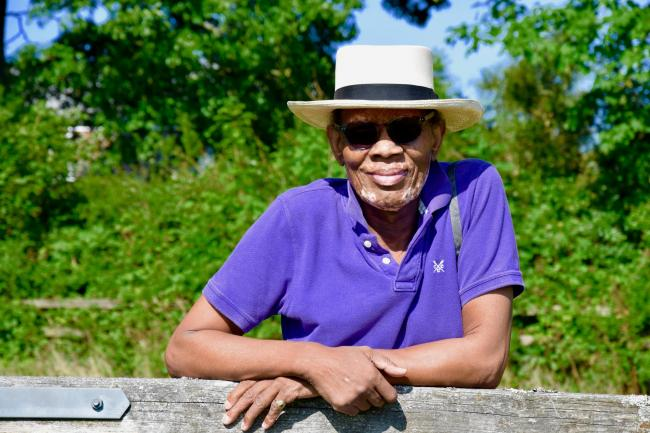 Wilfred Emmanuel-Jones, The Black Farmer, is coming to Powerstock Hut
