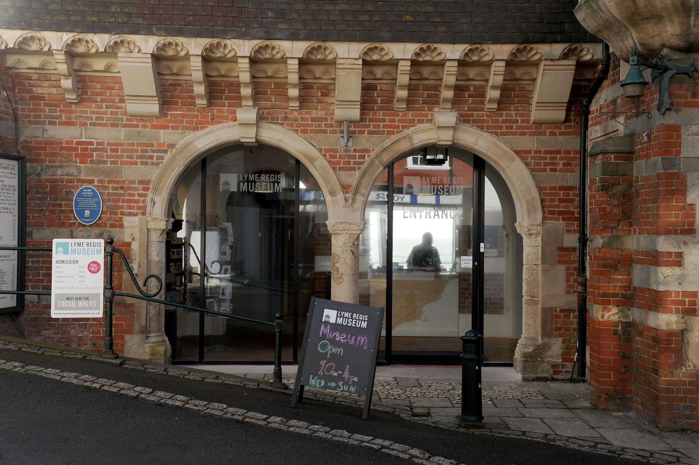 Lyme Regis Museum has teamed up with Jurassic Coast's poet-in-residence