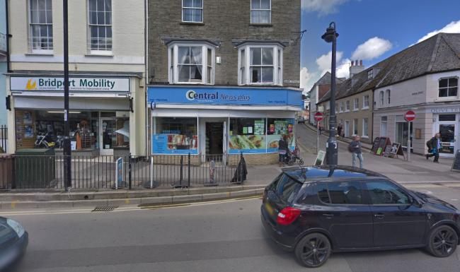 The bike was stolen from outside Central Stores in East Street. Picture: Google Maps