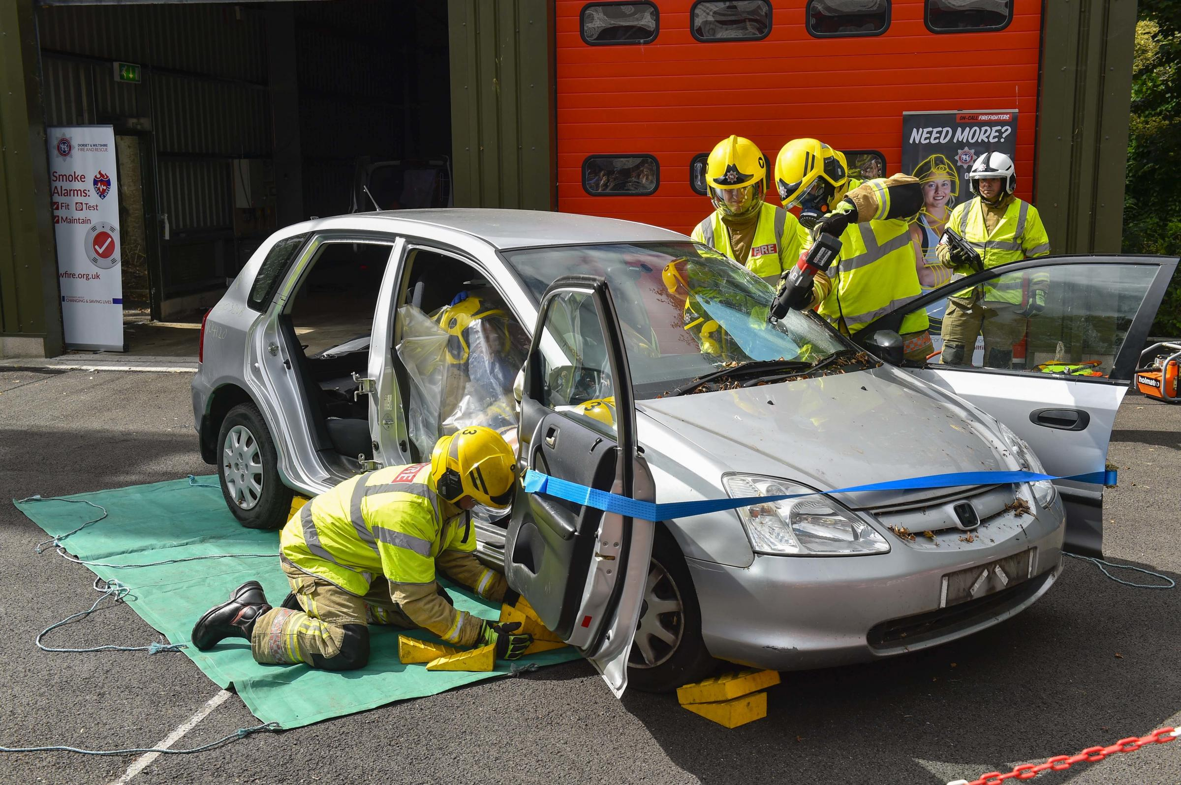 Bridport Fire Station to host 'have a go' recruitment evening