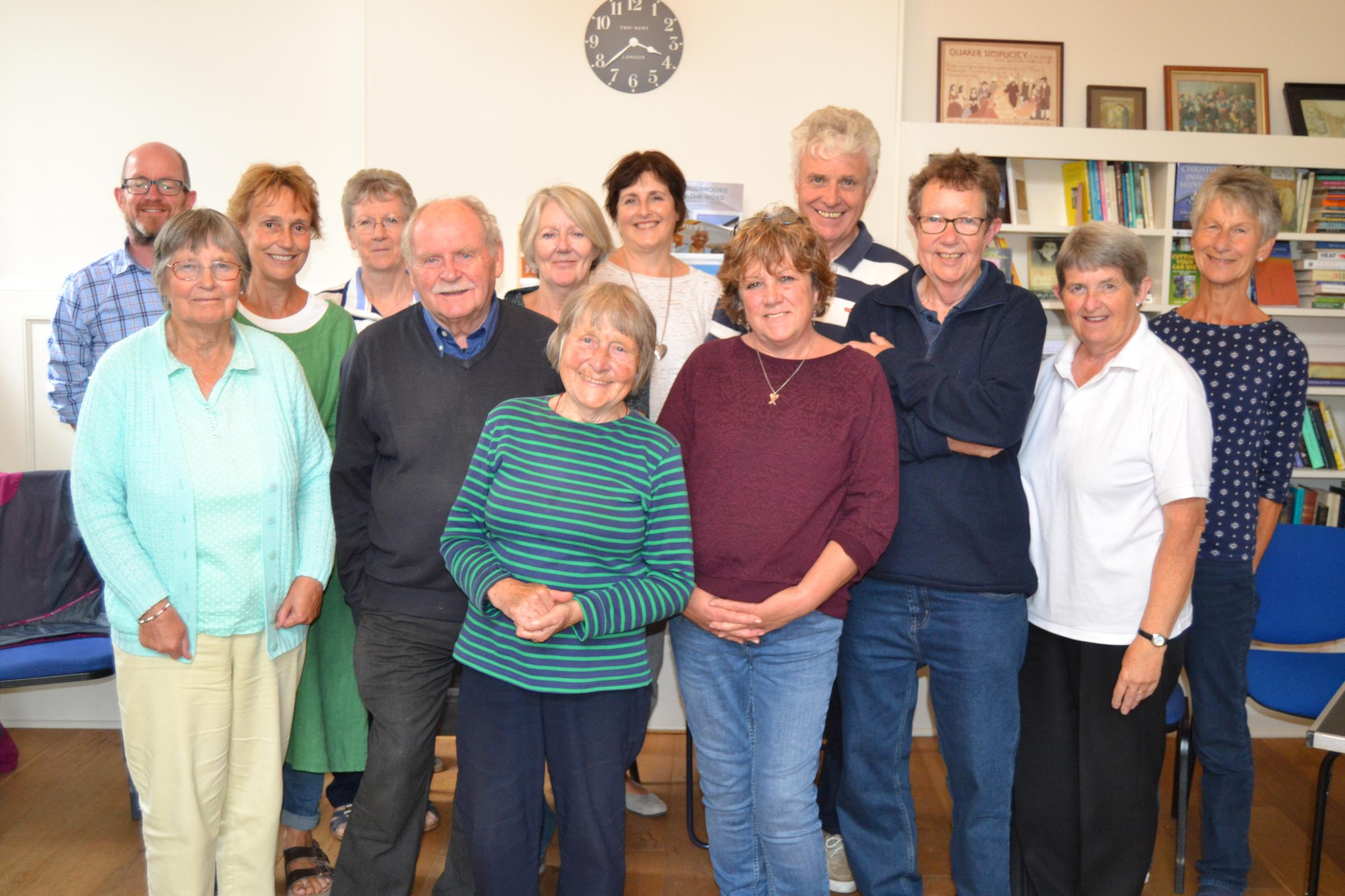 The Living Tree cancer support group in Bridport features in a new Macmillan video