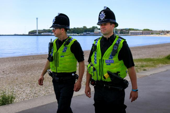 Weymouth NPT Officers     Picture: Dorset Police