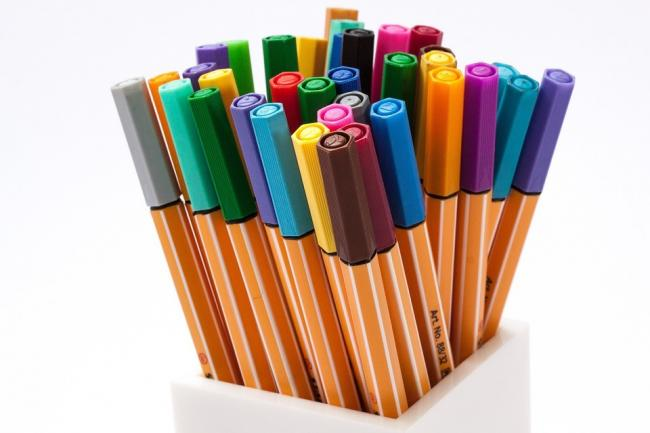 Recycle your old pens at Bridport Library Picture: PIXABAY