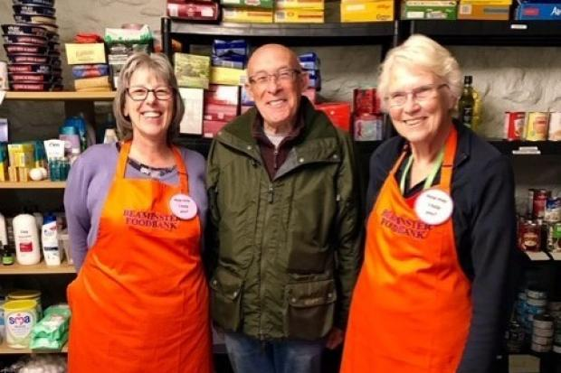Bridport Lions Club donates to local food banks