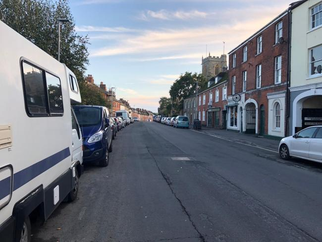 The residents were fined on South Street