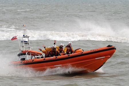 The Lyme Regis RNLI lifeboat was launched this afternoon