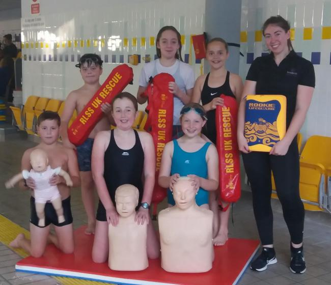 Water safety offered through Rookie Lifeguard programme at Bridport Leisure Centre