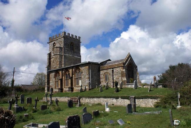 Church of St Andrew and St Peter in Toller Porcorum Picture: MICHAEL BOARDMAN