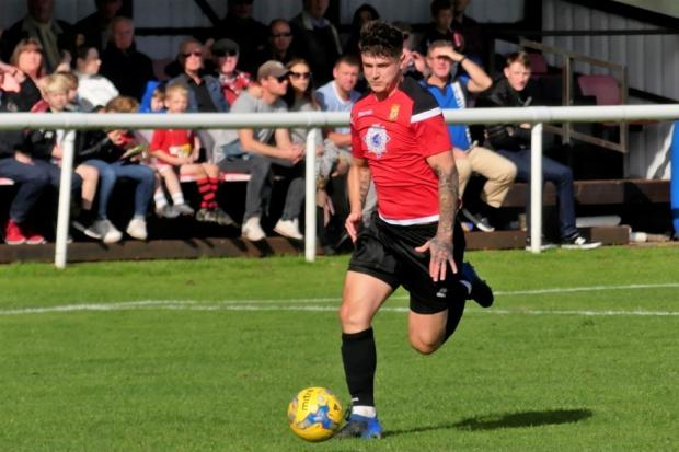Bridport striker Lewis Clarke is set to return to action at Tavistock                        Picture: STEPHEN BARRETT