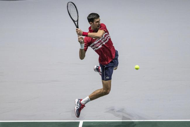 Novak Djokovic was unable to guide Serbia to victory