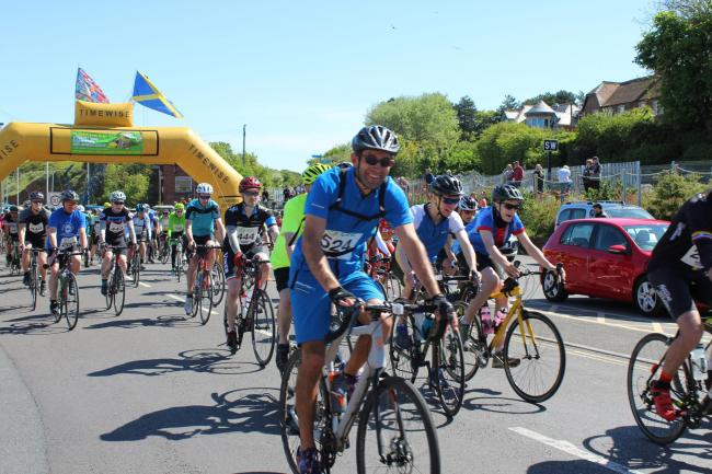 Dorset and Somerset Air Ambulance's Coast to Coast Cycle Challenge registration opens next week