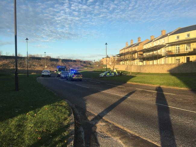 An onlooker said the incident took place between the roundabout and Sunny Days Nursery.