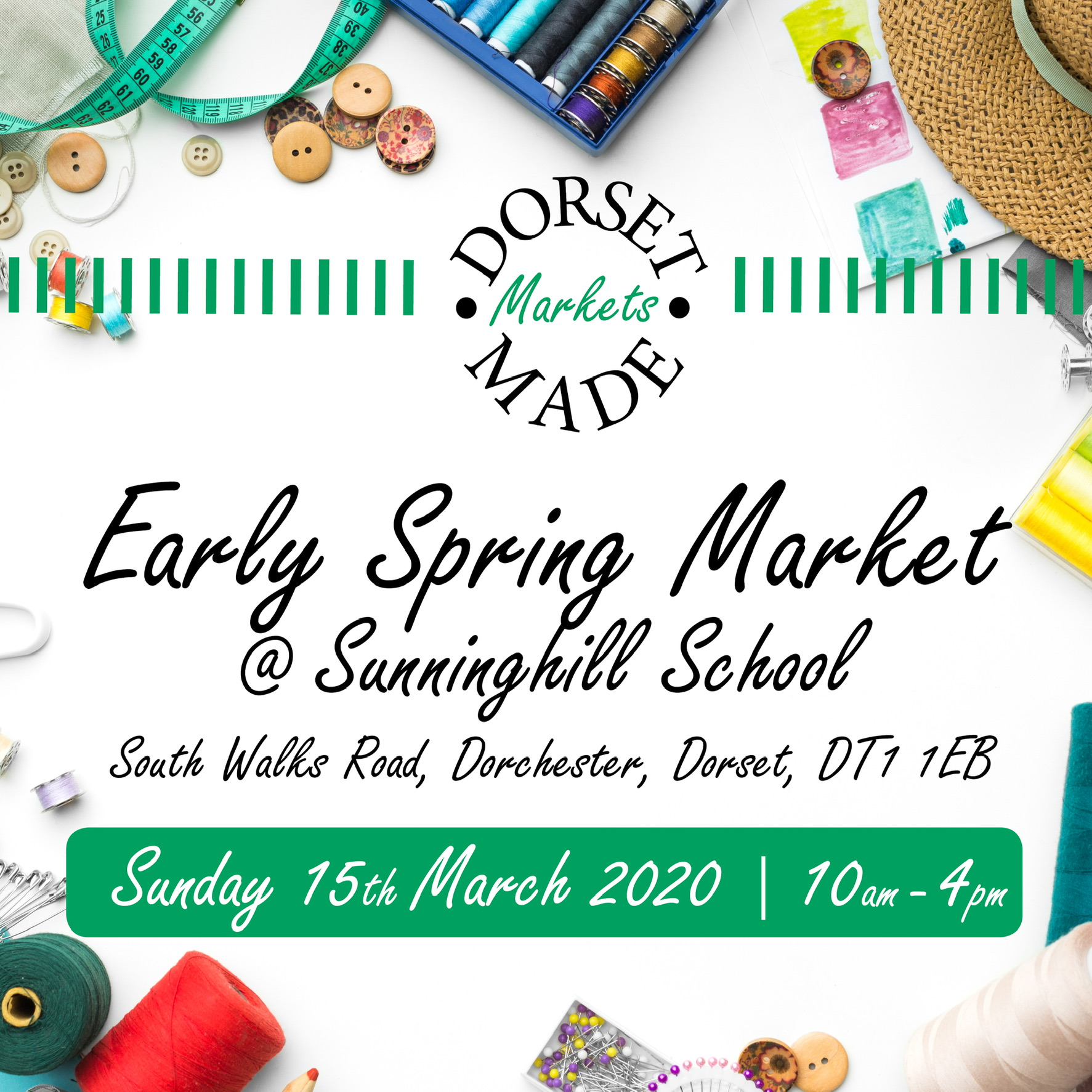 Early Spring Market at Sunninghill School, Dorchester