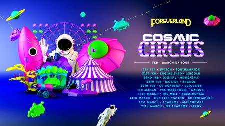 Foreverland Bournemouth . Cosmic Circus Rave
