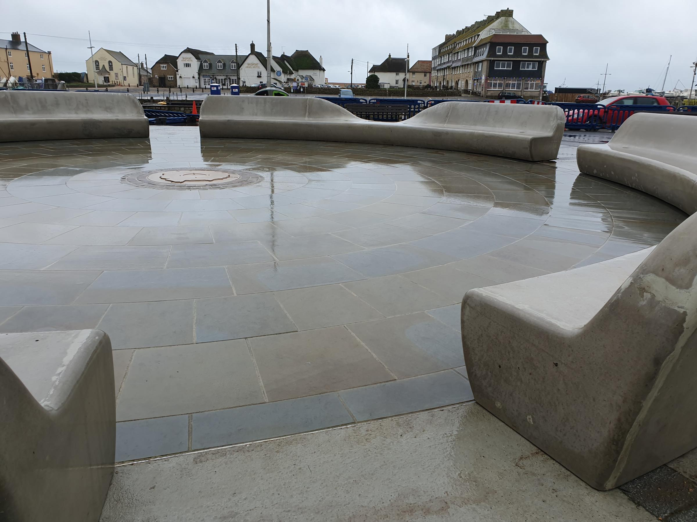 """Divided opinion over West Bay's """"edgy"""" new benches"""