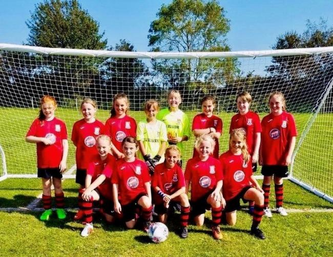 More girls are being encouraged too join the under 11 Bridport Youth Football team