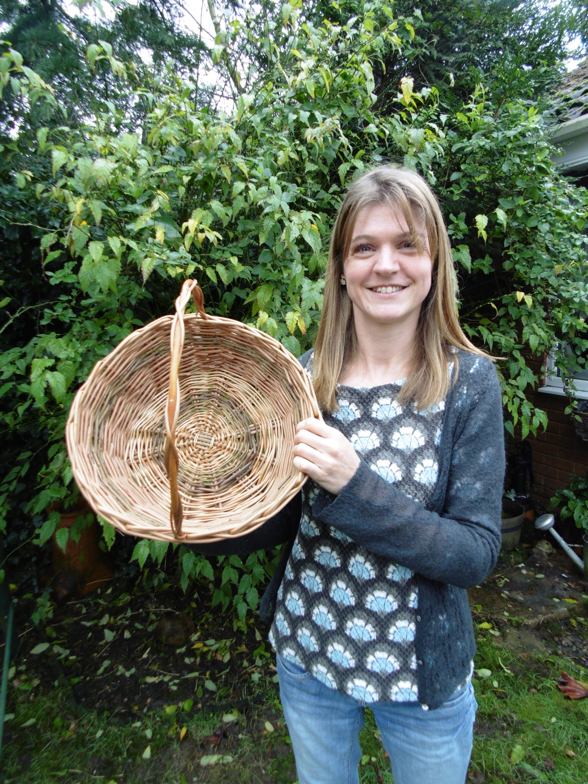 Saturday Special; Willow Workshop - Round Willow Baskets for Beginners with Tracy Standish