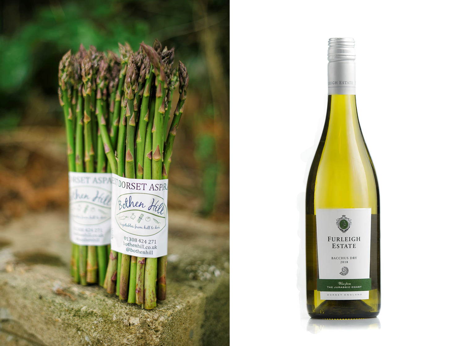 Furleigh Estate Bacchus and Asparagus Tasting