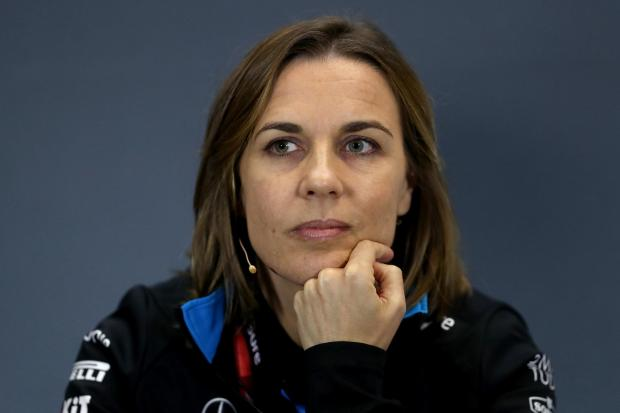 Claire Williams took over the day-to-day running of her father's team in 2013