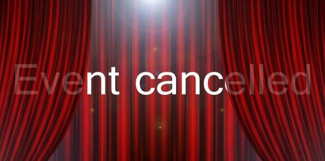 Events are being cancelled  Picture: PIxabay