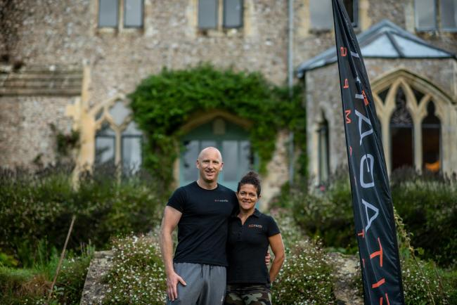 Andrew and Lucy Watkinson of FitAgain are urging people to take part in their charity bootcamp to raise money for Cupboard Love food bank