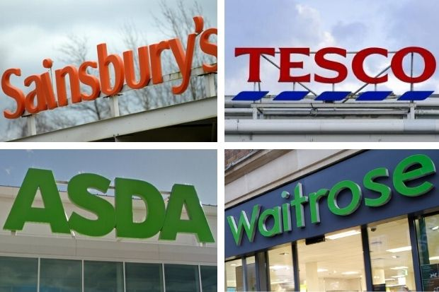 Asda, Morrisons, Tesco, Sainsbury's and Waitrose have recalled these products