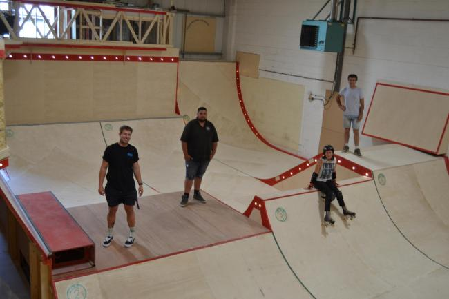 New indoor skate park opens its doors for the first time tomorrow