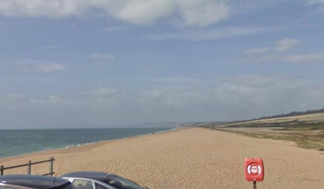Police visit for West Bexington beach campers Picture: Google Mps