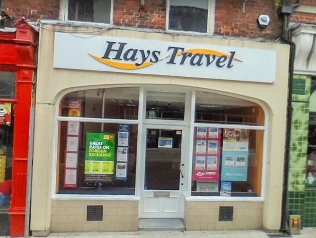 Hays Travel in Dorchester Picture: Google Maps