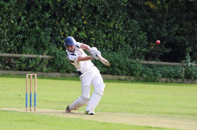 Sam Baker hit 66 for newly-formed Cattistock & Symene at Sherborne					          Picture: LIAM TOOHILL