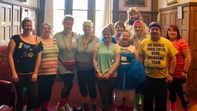 Staff at Pinhay House Care Home have walked 500 miles for Alzheimer's Society