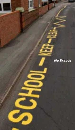 Police crack down on drivers parking illegally outside schools Picture: Dorset Police No Excuse Team