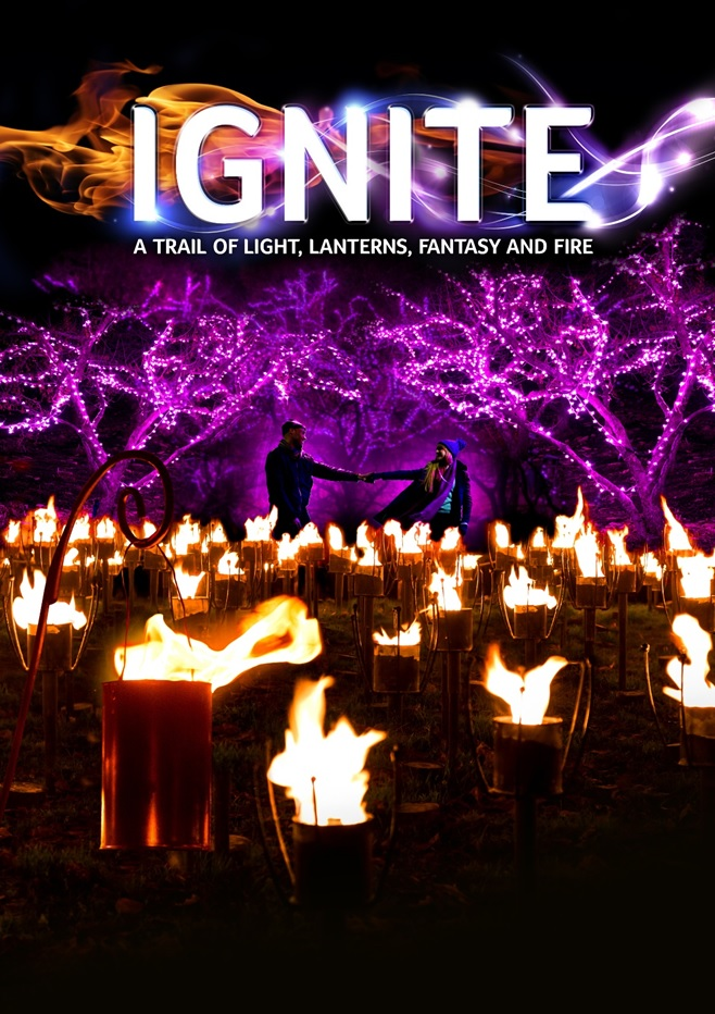 IGNITE Trail Kingston Lacy – A Trail of Light, Lanterns, Fantasy and Fire