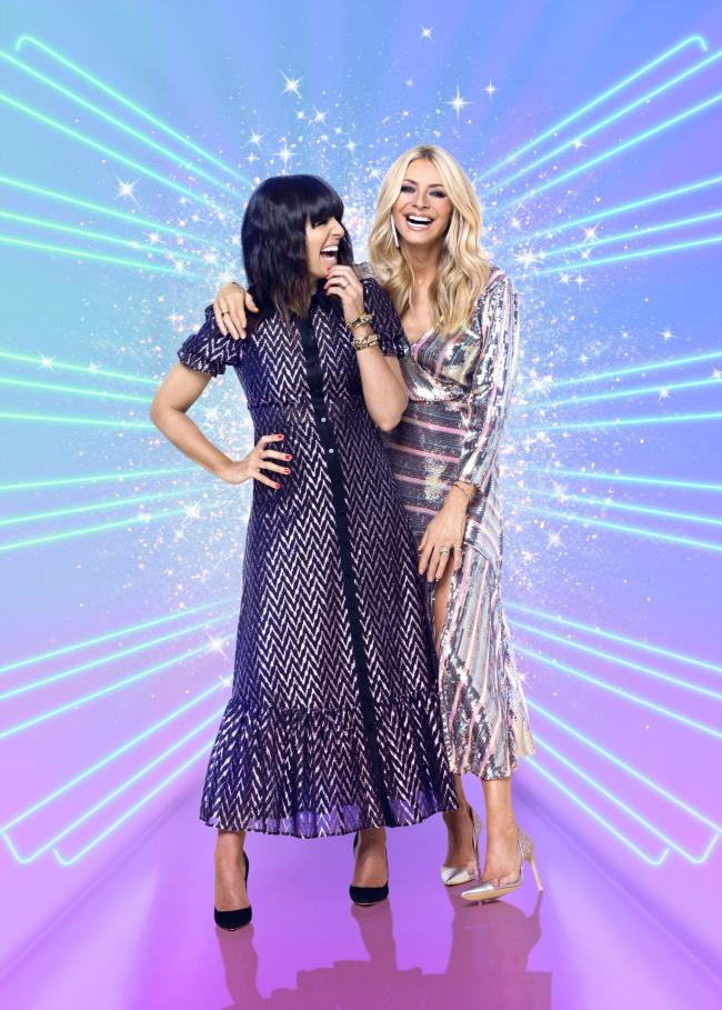 Claudia Winkleman and Tess Daly Picture: PA Photo/BBC/David Oldham
