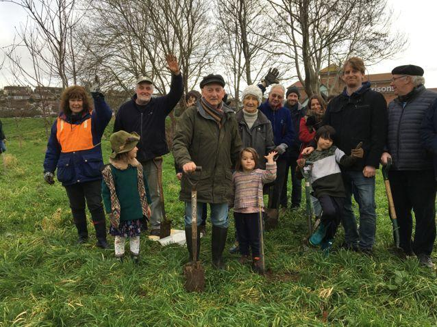 More trees will be planted throughout Bridport in coming months Picture: Bridport Tree Planting