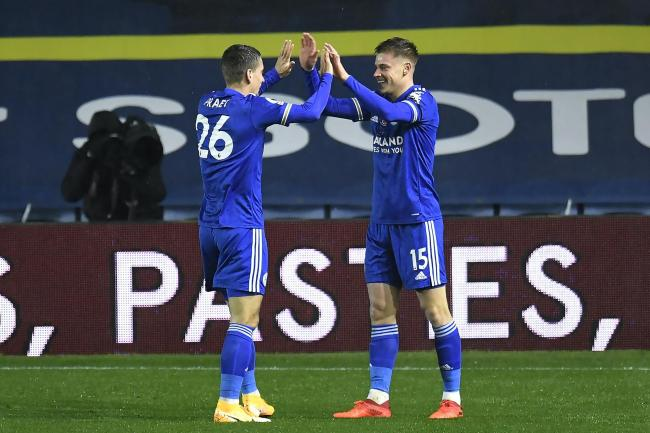 Harvey Barnes, right, hopes to add more end product to his game (Peter Powell/PA)