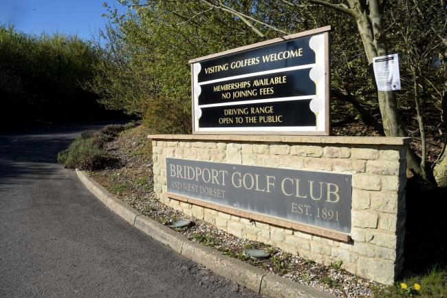 Bridport Golf Club has thanks its 'supportive' members 	      Picture: FINNBARR WEBSTER/F17270