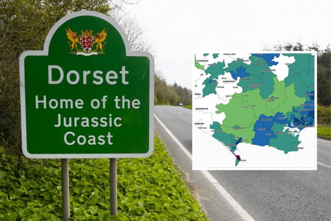 The Dorset areas where coronavirus cases are falling