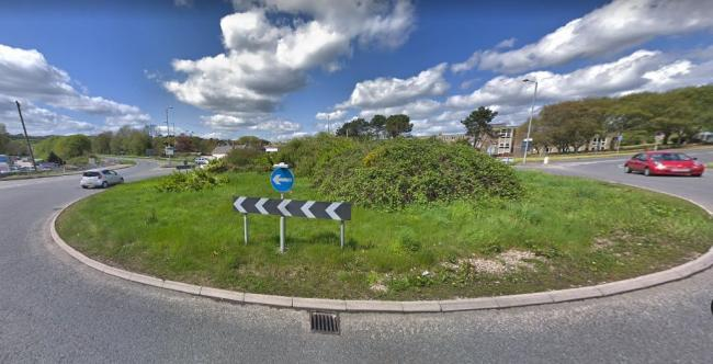 An image of Sea Road South roundabout, taken in 2018 Picture: Google Maps