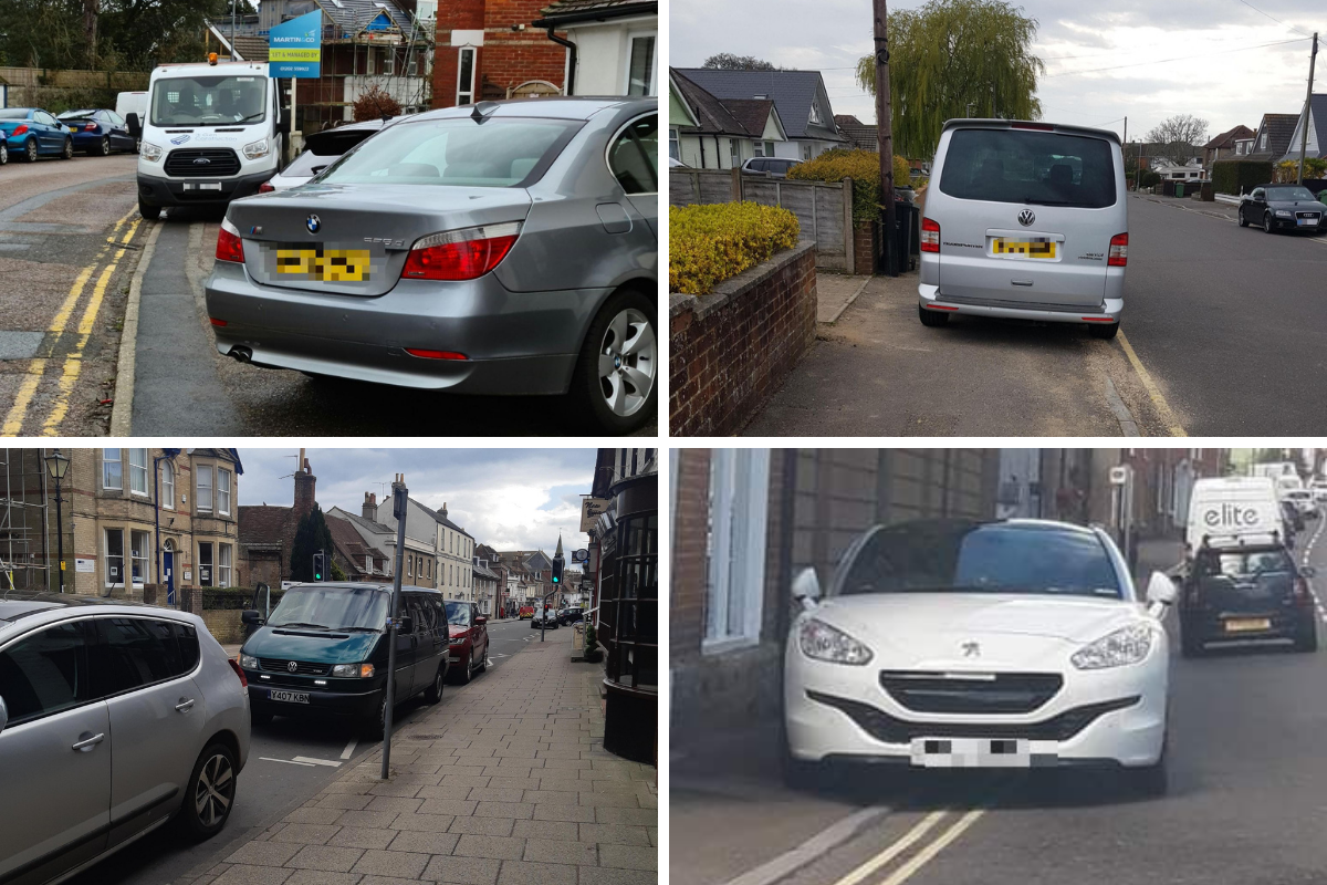 The most 'inconsiderate' and 'nightmare' parking seen in Dorset