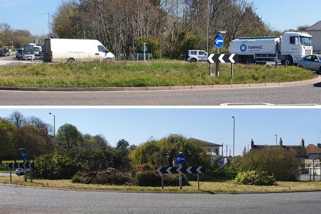 Residents have raised concerns about the East Road (Mitsubishi) roundabout and the Crown roundabout Pictures: Bradley White