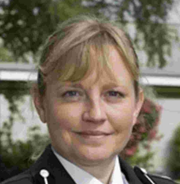 Acting Chief Constable Debbie Simpson